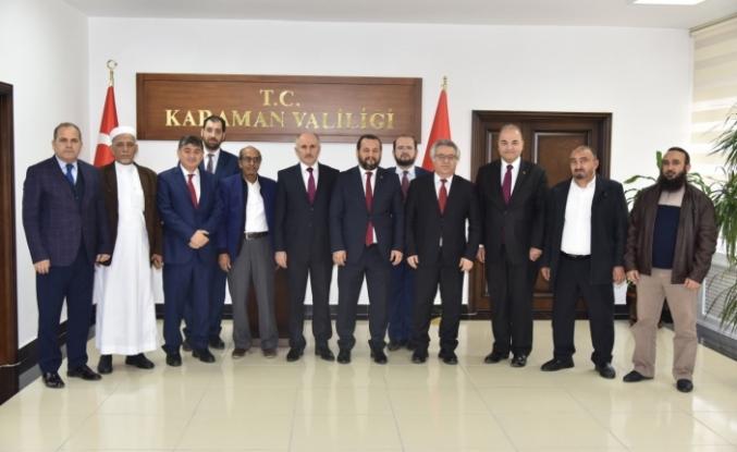 Rektör Akgül, Yemen Büyükelçisi İle Görüştü