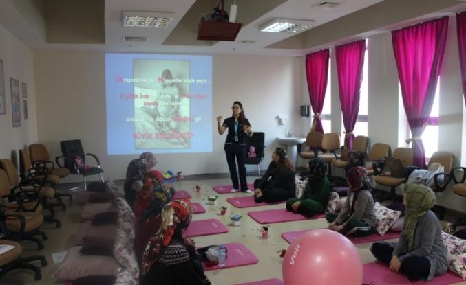 Gebe Okulu, Yeni Yerinde Anne Adaylarını Doğuma Hazırlıyor
