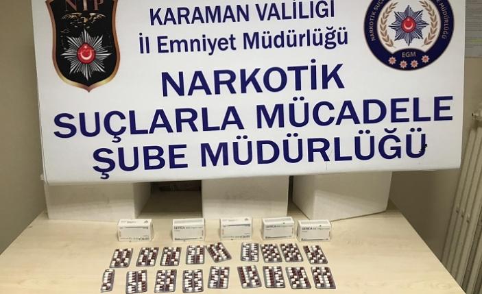 245 Uyuşturucu Hap Ele Geçirildi