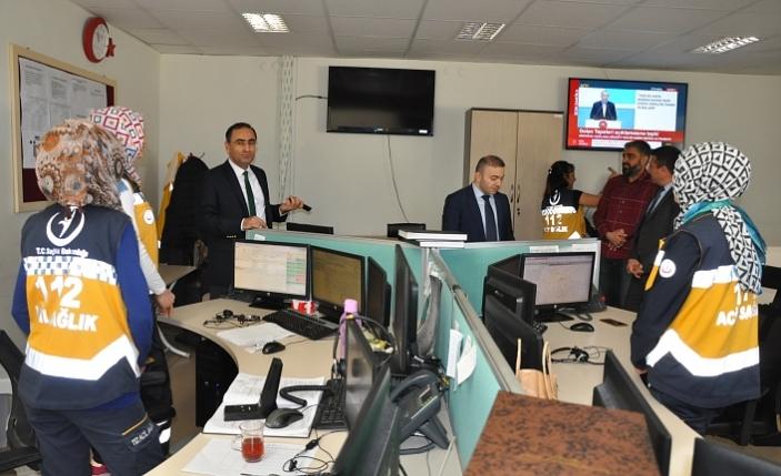 İl Sağlık Müdürü Arslan 112 Personelleri İle Bir Araya Geldi