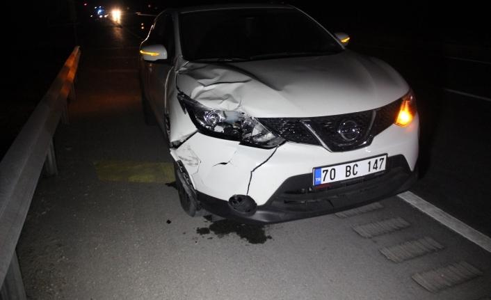 Karayolundan Karşıya Geçmek İsteyen Kadın Otomobilin Çarpması Sonucu Öldü