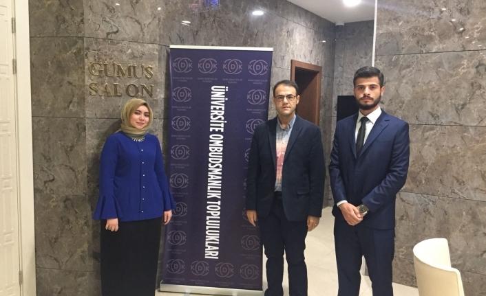 KMÜ Öğrencileri Ombudsmanlık Toplulukları Çalıştayına Katıldı