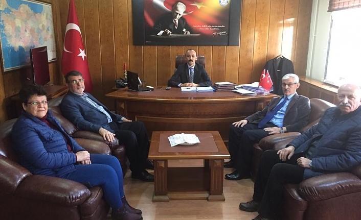 İl Genel Meclisi'nden Kâzımkarabekir'e Ziyaret