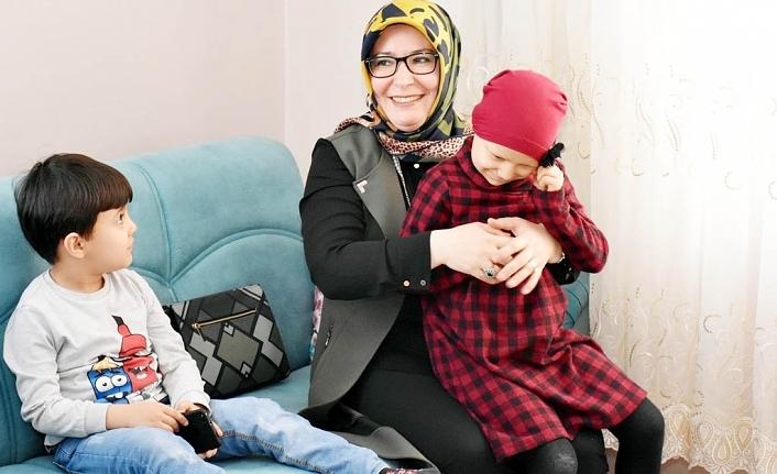 Zehra Meral Evde Eğitim Gören Hatice Nur'un Mutluluğuna Ortak Oldu
