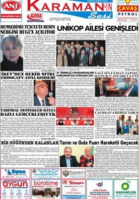 www.kgrt.net - 22.10.2016 Manşeti