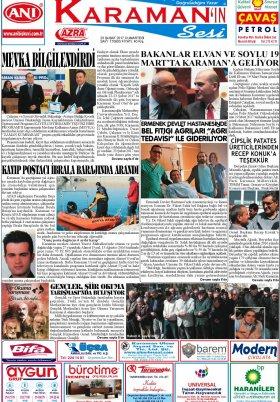 www.kgrt.net - 25.02.2017 Manşeti