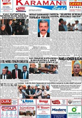 www.kgrt.net - 29.04.2017 Manşeti