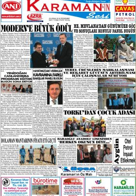 www.kgrt.net - 28.04.2016 Manşeti