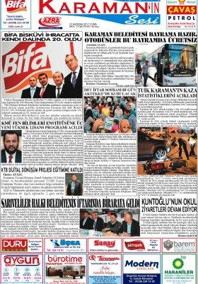 www.kgrt.net - 23.06.2017 Manşeti