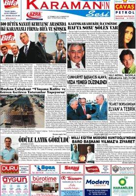 www.kgrt.net - 22.07.2017 Manşeti