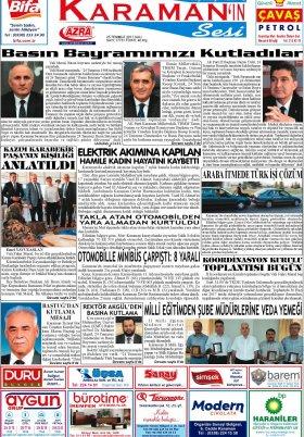 www.kgrt.net - 25.07.2017 Manşeti