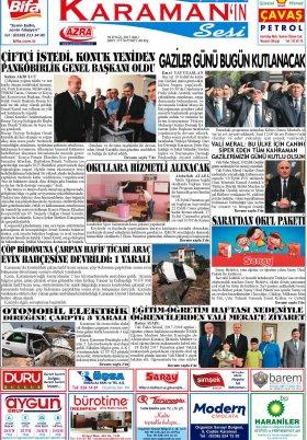 www.kgrt.net - 19.09.2017 Manşeti