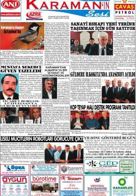 www.kgrt.net - 30.05.2016 Manşeti
