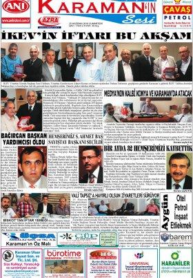 www.kgrt.net - 25.06.2016 Manşeti