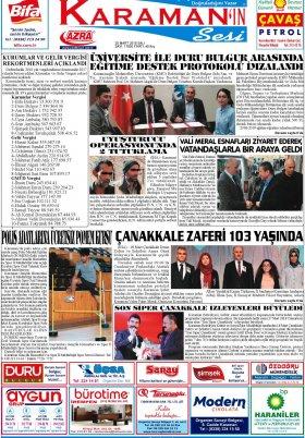 www.kgrt.net - 20.03.2018 Manşeti