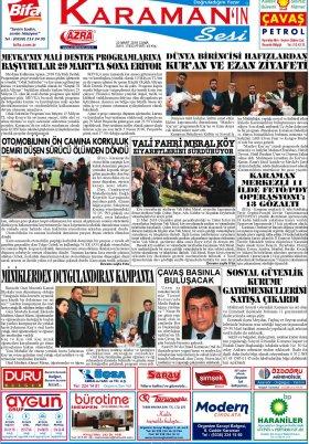 www.kgrt.net - 23.03.2018 Manşeti