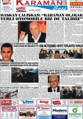 www.kgrt.net - 23.11.2017 Manşeti