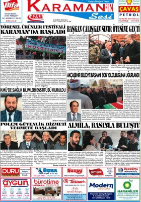 www.kgrt.net - 20.02.2018 Manşeti