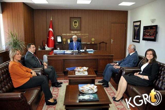 SGK Heyetinden Vali Koca Ve Başkan Çalışkan'a Ziyaret