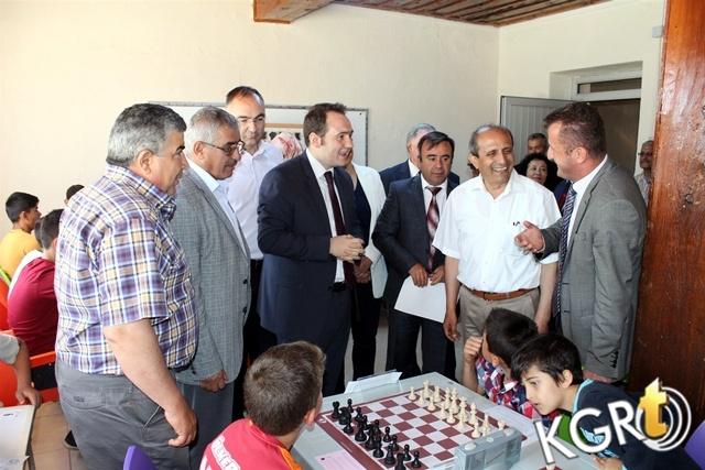 Kazım Karabekir'de Satranç Eğitim Merkezi Açıldı