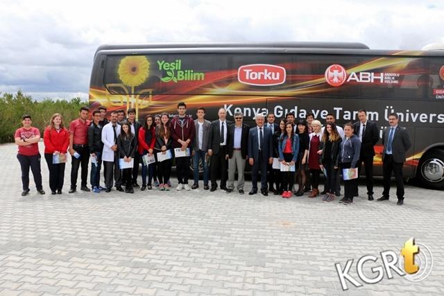 Konya Gıda Ve Tarım Üniversitesi Tanıtım Heyeti Karaman'a Ziyarete Geldi