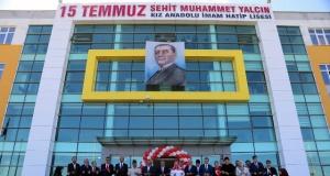 Şehit Muhammet Yalçın'ın İsminin Verildiği Okulda Hüzünlü Tören