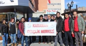 Gençlik Merkezi Kızılay'ın Çağrısına Duyarsız Kalmadı