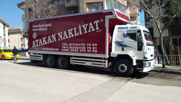 Ankara Asansörlü Nakliyat Şirketleri, Eşya Taşıma