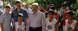 Türkiye Sampiyonu Basketbolculara Muhtesem Karsilama