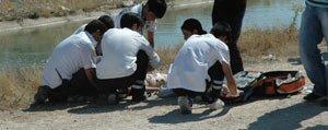 Serinlemek Için Ayagini Soktugu Sulama Kanalina Düsen Çocuk Boguldu