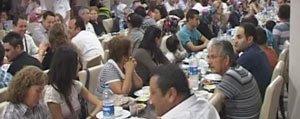 Bifa'dan Çalisanlarina Iftar Yemegi