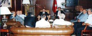 Muhtarlar Dernegi Baskani Soytürk, Muhtarlarin Sorunlarini Bakan Sahin'e Aktardi