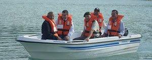 Ermenek Kaymakamligi Gezende Baraj Gölüne Motorlu Tekne Tahsis Etti