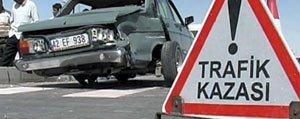 Karaman`da Trafik Kazasi: 1 Ölü, 2 Yarali