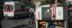 Ambulans Kaza Yapti, Tasidigi Hasta Öldü