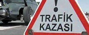 Karaman`da Trafik Kazasi: 2 Yarali