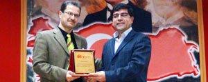 Tarihçi Yazar Ibrahim Refik Karaman'da Konferans Verdi