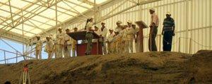 Taekwondocular Çatalhöyük'de Kültür Bakani Günay Ile Bulusuyor