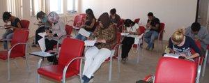 KMÜ`de Uluslararasi Ögrenci Programi Sinavi Yapildi