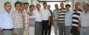 SGK Il Müdürü Yilmaz Veda Ziyaretlerine Basladi
