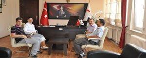 Tabibler Odasi Yönetiminden Ulu'ya Ziyaret