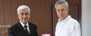 Tokat Valisi Taskesen'den Vali Koca'ya Hayirli Olsun Ziyareti