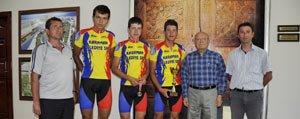 Belediye Spor Bisiklet Takimi Tarih Yaziyor