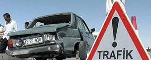 Trafik Kazalarinda 7 Kisi Yaralandi