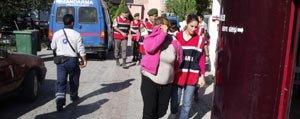 Fuhus Operasyonunda Gözaltina Alinanlar Adliyeye Sevk Edildi