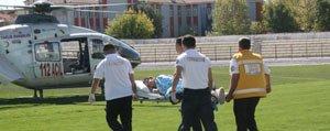Pikolojik Tedavi Gören Çocuga Hava Ambulansi