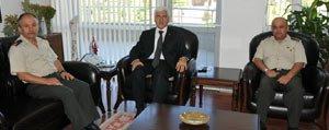 Tuggeneral Safak Karakoç`tan Nezaket Ziyareti