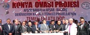 Afsar Baraji Ve Afsar-Bagbasi Derivasyon Tünelinin Temeli Atildi