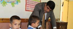 Il Milli Egitim Müdürü Bekir Aksoy Köy Okullarini Ziyaret Etti