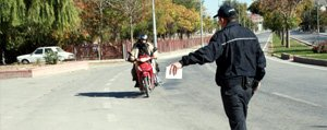 Motosikletlere Siki Denetim